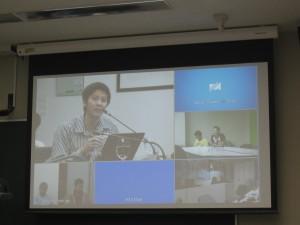 Dr. Supasate Choochaisri is presenting AR in Teaching/Learning Media