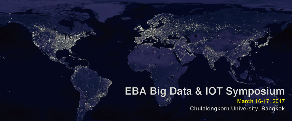 EBA Big Data & IOT Symposium – March 2017